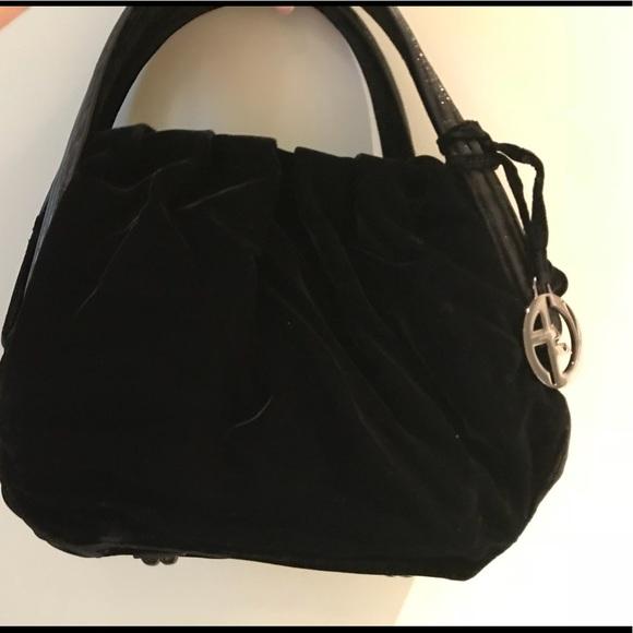 5297e50dff6 Giorgio Armani Bags   Velvet Armani Bag   Poshmark